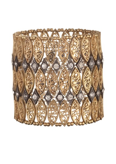 Ingenious Stretch Cuff - Gold main image