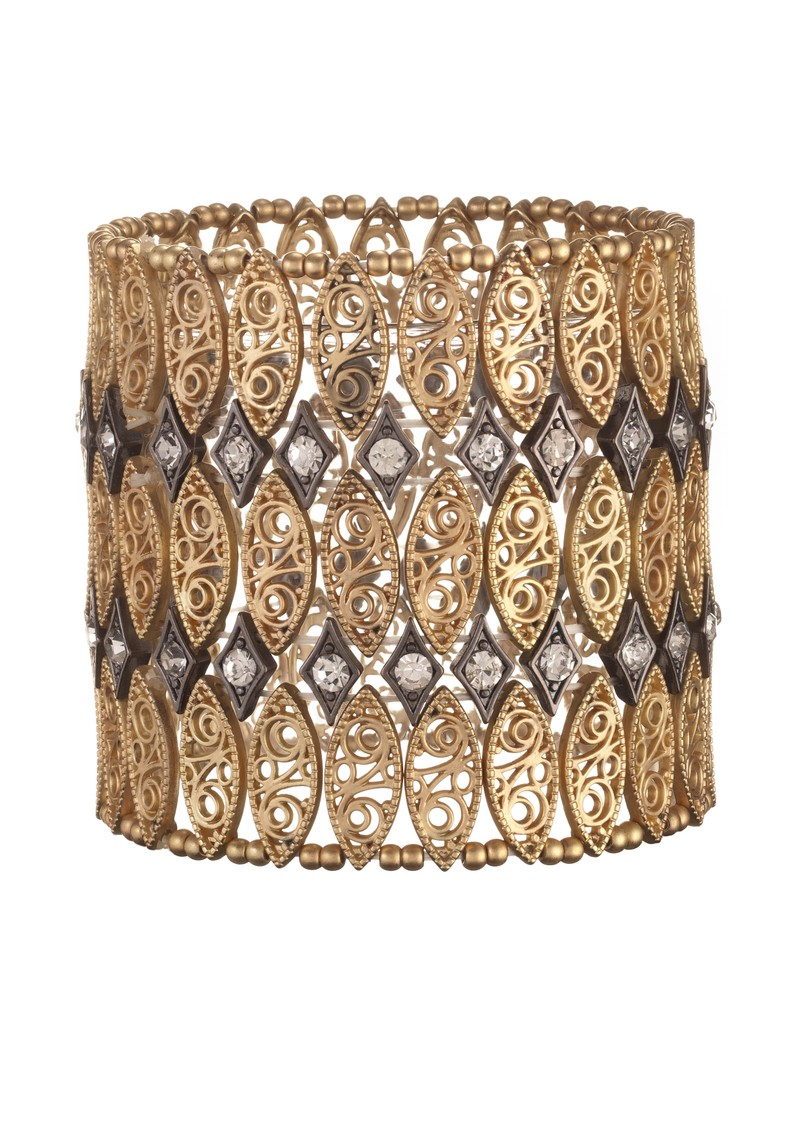 Stretch Cuff - Gold main image