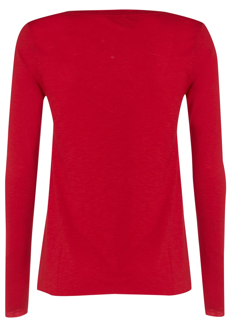 American Vintage Jacksonville Long Sleeve Tee - Red Current main image