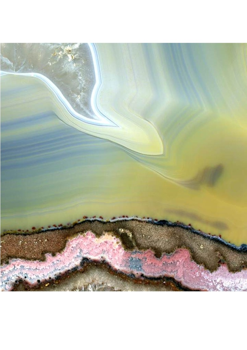 Weston Scarves Agate 3 Silk Scarf - Multi main image