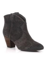 Jalouse Suede Ankle Boot - Wood Ash