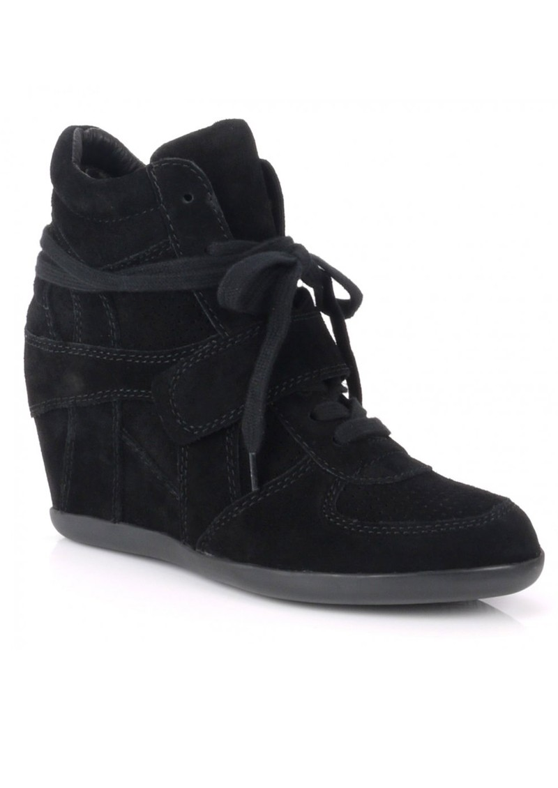 Ash Bowie Wedge Trainer - Black main image