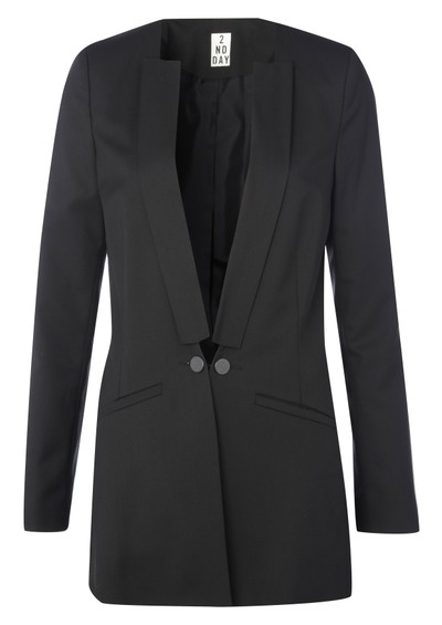 2nd Day Yasmine Blazer - Black main image