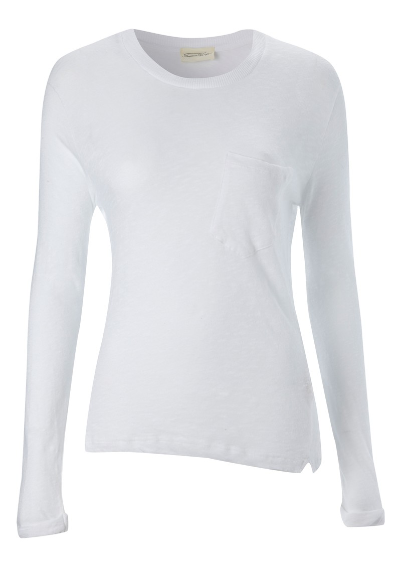 Bakerfield Pocket Top - White main image