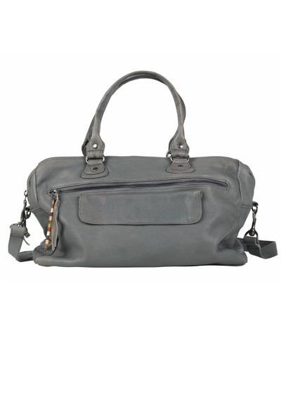 Becksondergaard X Laurie Leather Bag - Smokey main image