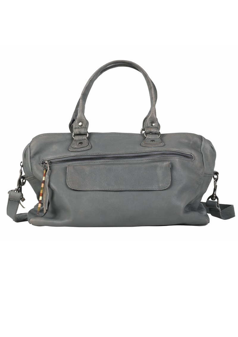 X Laurie Leather Bag - Smokey main image
