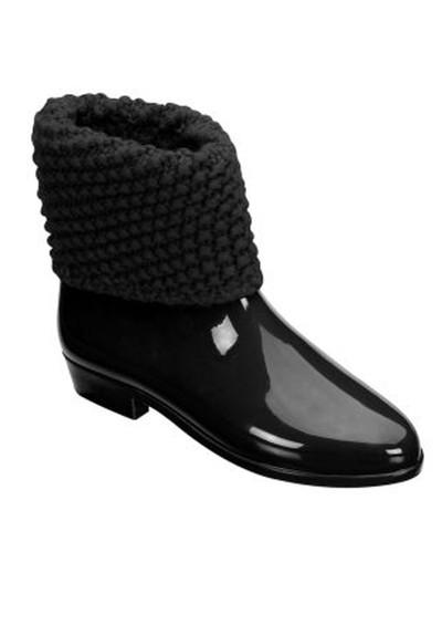 Melissa Tricot Boots - Black main image