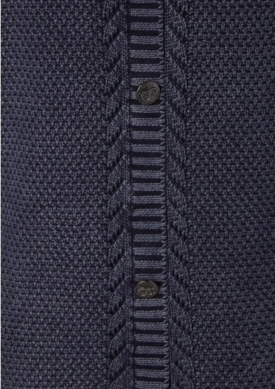 Maison Scotch Washed Out Crew Neck Jumper - Blueberry main image
