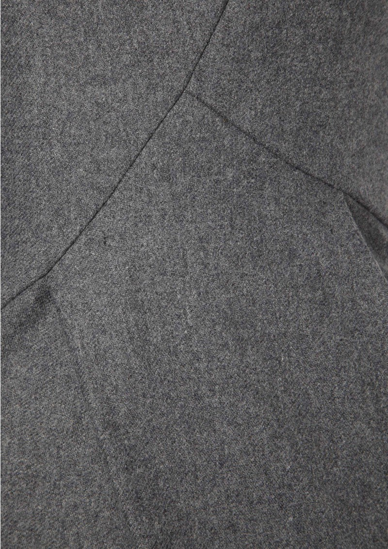 Great Plains Mae Wool Mix Dress - Grey Melange main image