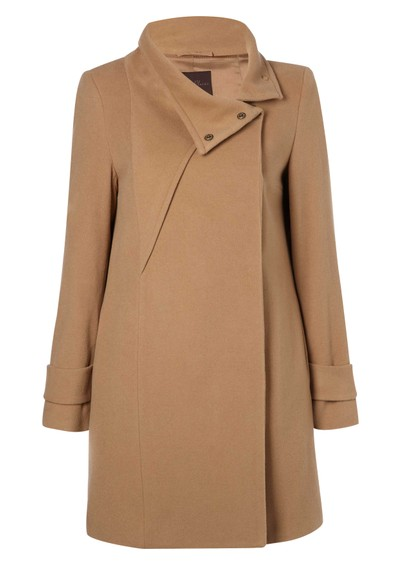 Great Plains Gabriel Cashmere Mix Coat - Treacle main image