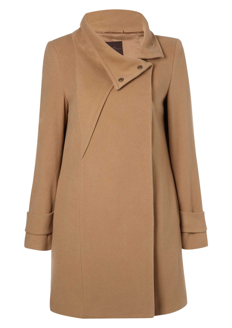 Gabriel Cashmere Mix Coat - Treacle main image