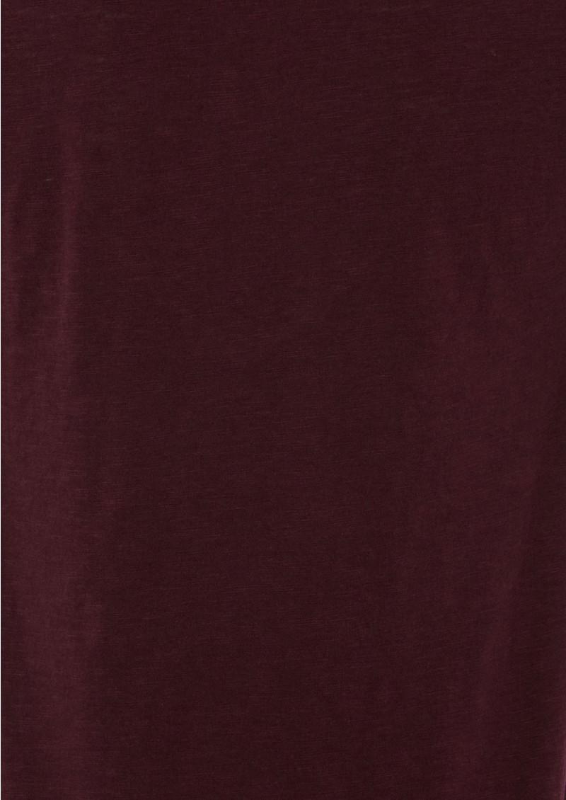 American Vintage Jacksonville Short Sleeve Top - Blackberry main image