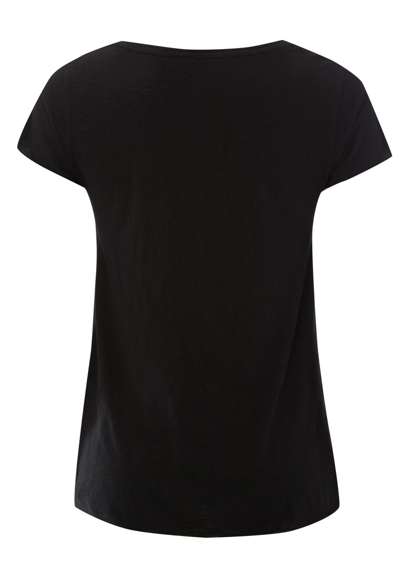 American Vintage Jacksonville Short Sleeve Top - Black main image
