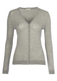 Nevada Knit Cardigan - Heather Grey