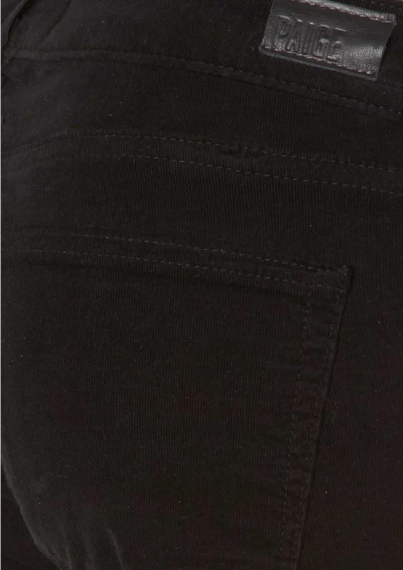 Paige Denim Verdugo Ultra Skinny Cords - Black main image
