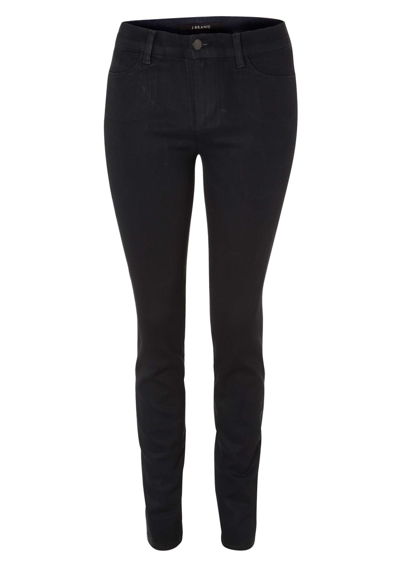 J Brand 8177 Clean Mid Rise Skinny Jean - Navy Cool main image