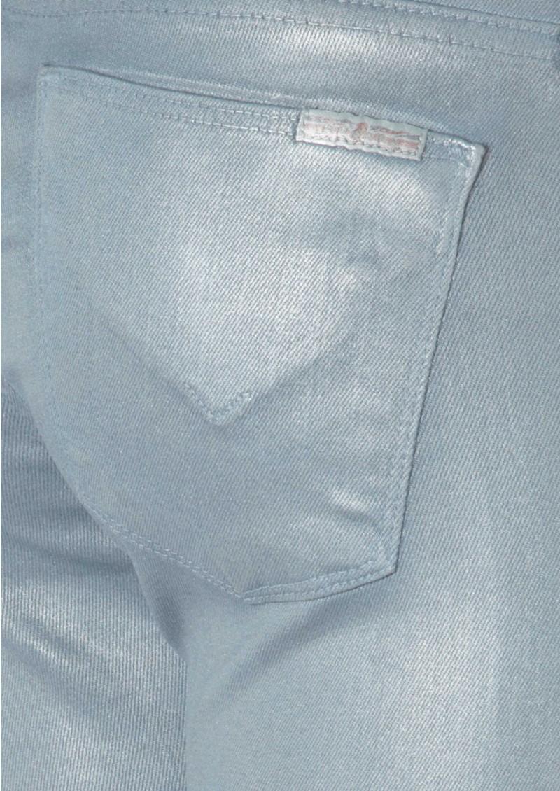 Hudson Jeans Krista Super Skinny Jean - Metallic Amnesia main image