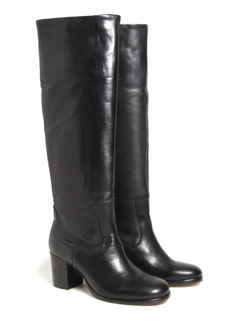 Folgate Knee High Boot - Black main image