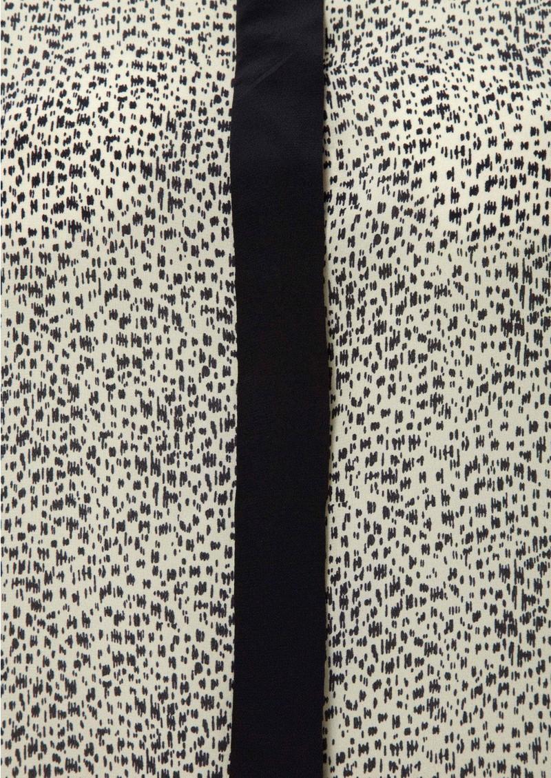 Virginie Castaway Melany Silk Blouse - Zebra main image