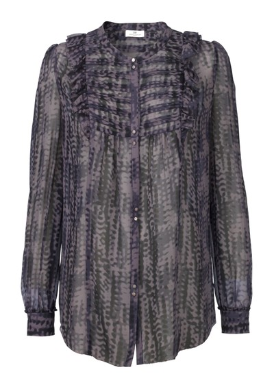 Day Birger et Mikkelsen  New Dottie Silk Shirt - Black  main image