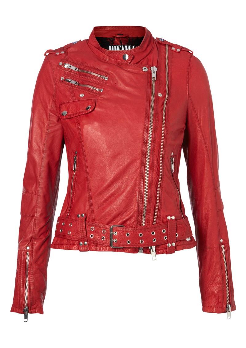 Jofama Kenza 9 Leather Jacket - Scarlett main image