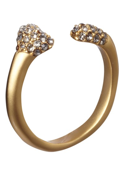 House Of Harlow Bone Ring - Gold main image