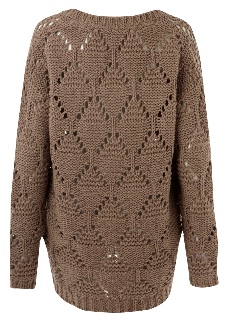American Vintage Big Sky Country Round Neck Knitted Jumper - Mouse main image