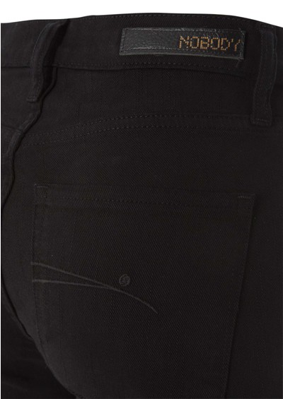 Nobody Cult Straight Leg Jeans - Black main image