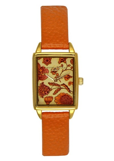 Olivia Burton Flower Show Watch - Tan main image