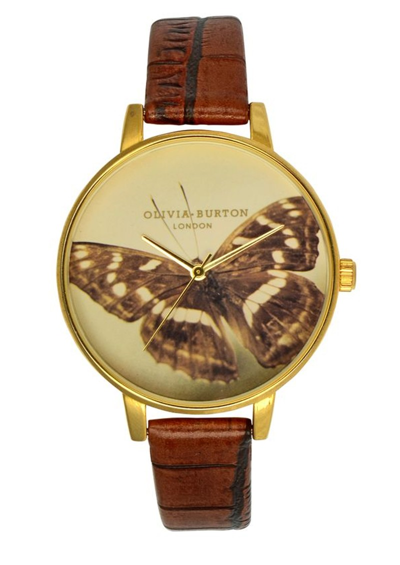 Large Woodland Butterfly Watch - Brown main image