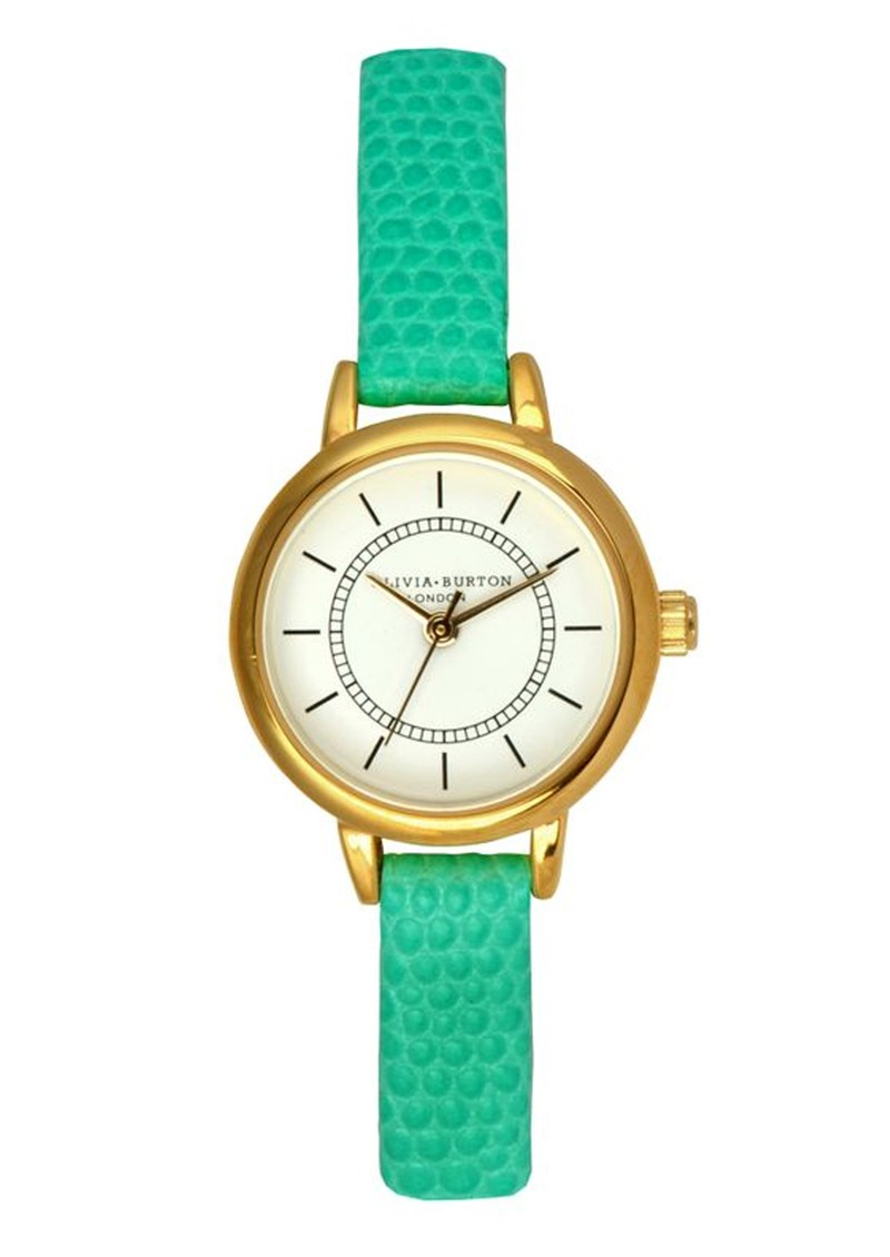 Olivia Burton Colour Crush Vintage Watch - Turquoise main image