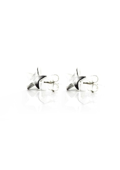 ChloBo Stud Star Earrings - Silver main image
