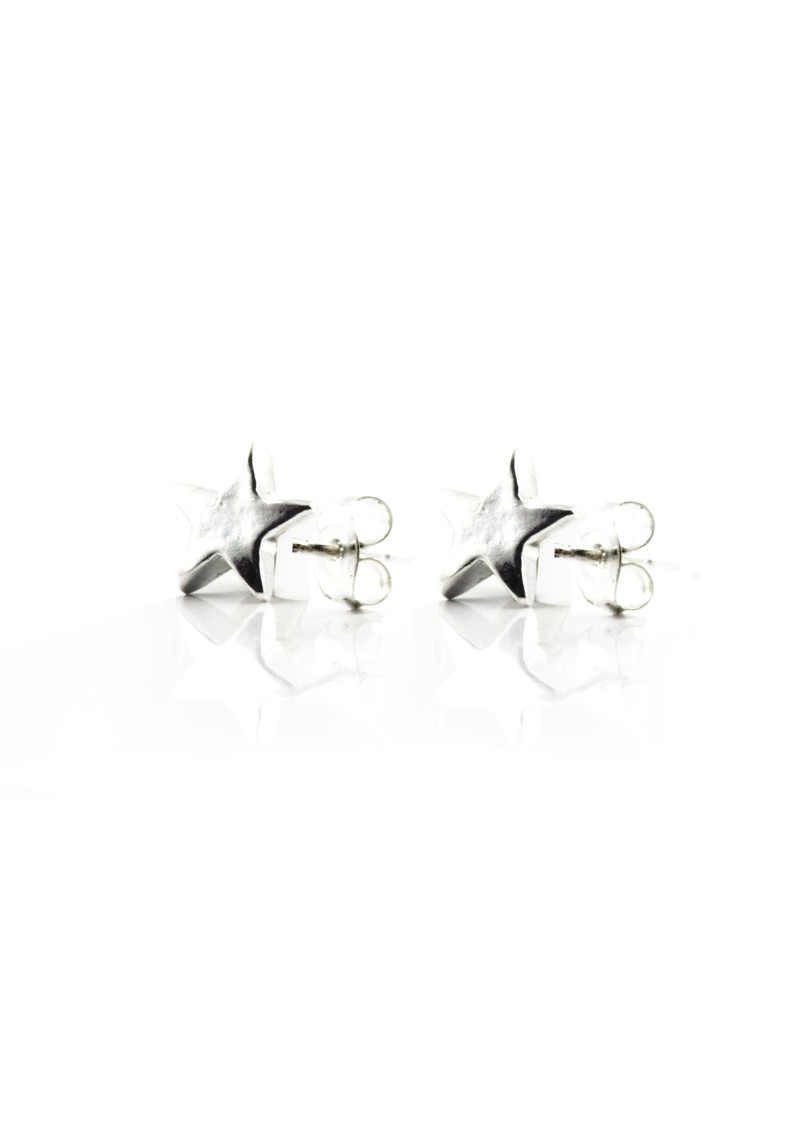 ChloBo Stud Star Earrings - Silver main image