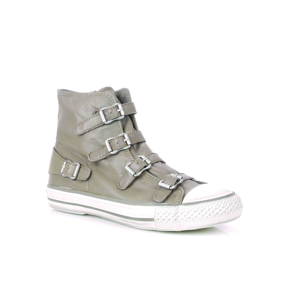 Virgin Leather Buckle Trainers - Perkish