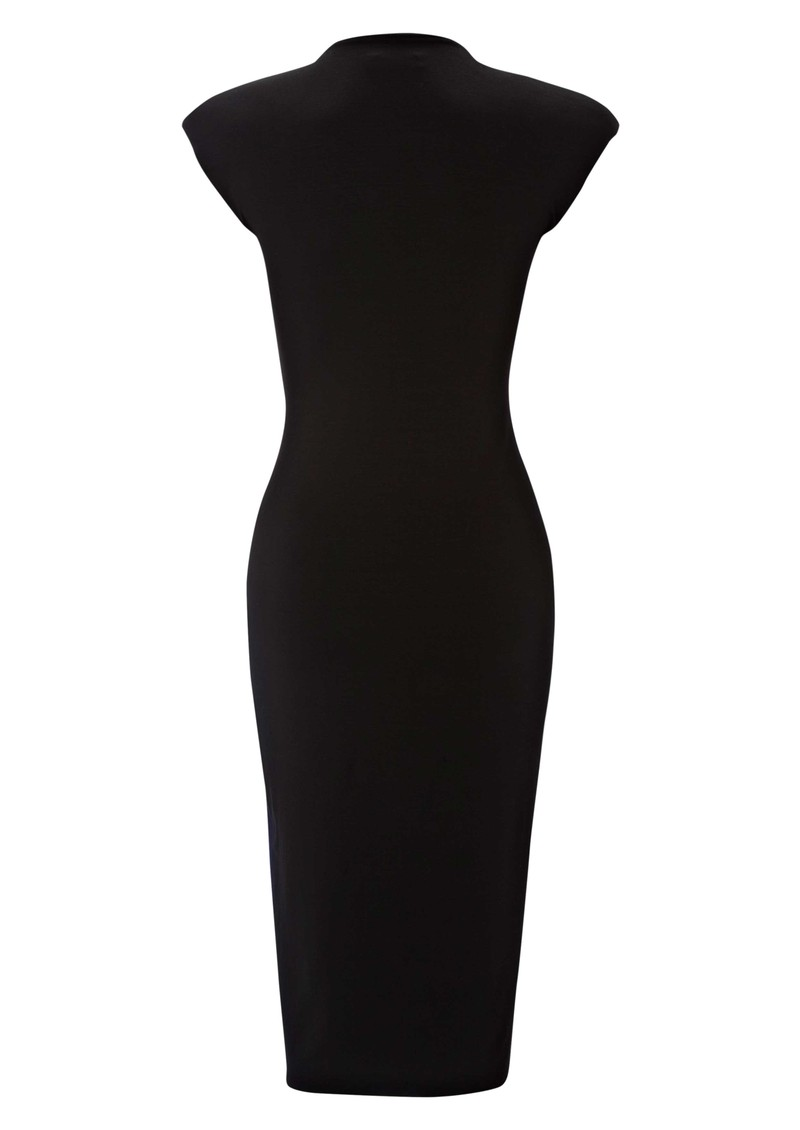 Butter By Nadia Capped Pencil Dress - Navy main image