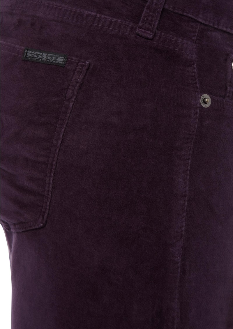 Hudson Jeans Krista Velvet Skinny Jean - Acai main image