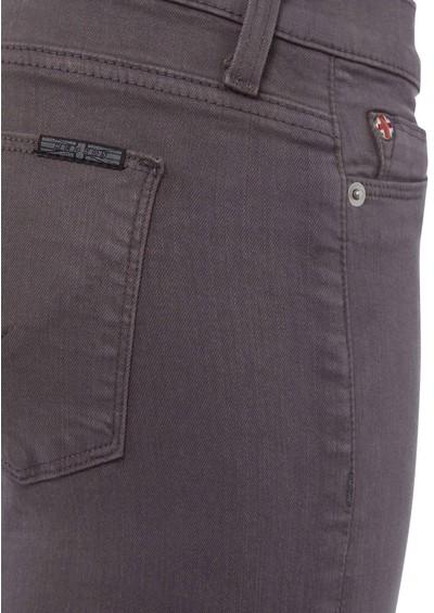 Hudson Jeans Nico Super Skinny Jean - Dark Grey main image