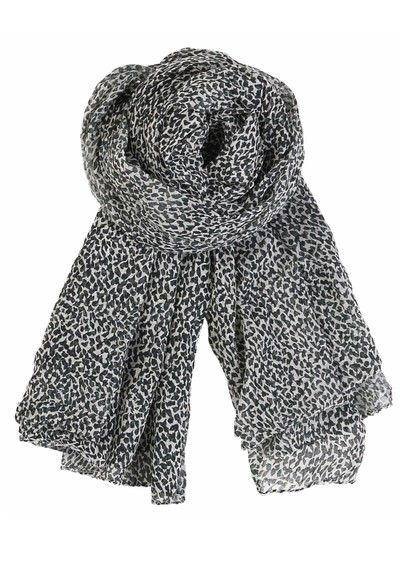 Becksondergaard A-Winter Snow Scarf - Black main image