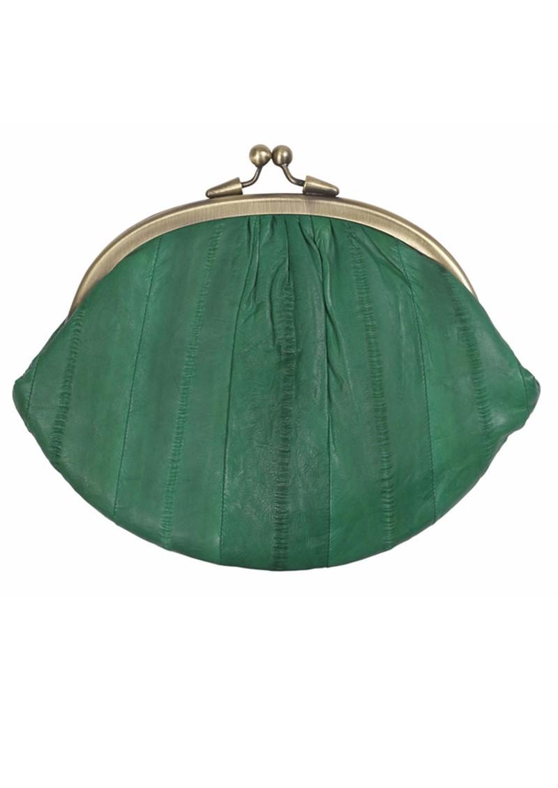 Becksondergaard Eel Skin Granny Purse - Green main image