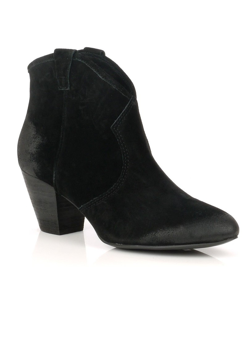 Ash Jalouse Suede Ankle Boot - Black main image