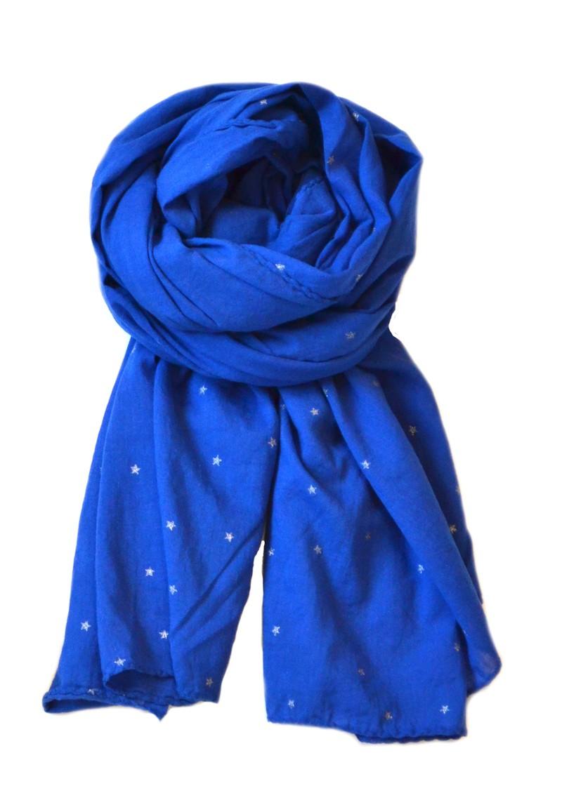 Becksondergaard Glitter Stars Scarf - Amazing Blue main image