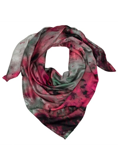 Weston Scarves Agate Silk Scarf - Pink main image