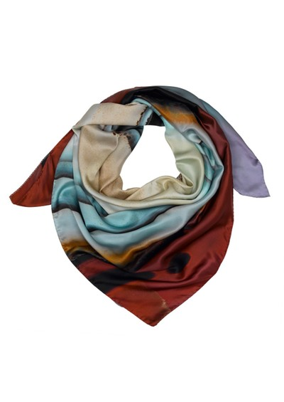 Weston Scarves Agate Silk Scarf - Agate main image