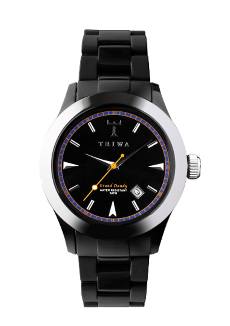 Triwa Carbon Dandy Watch - Black main image