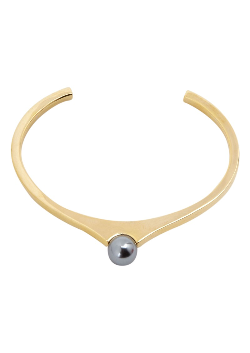 House Of Harlow Orb Gold Plated Cuff - Gold main image