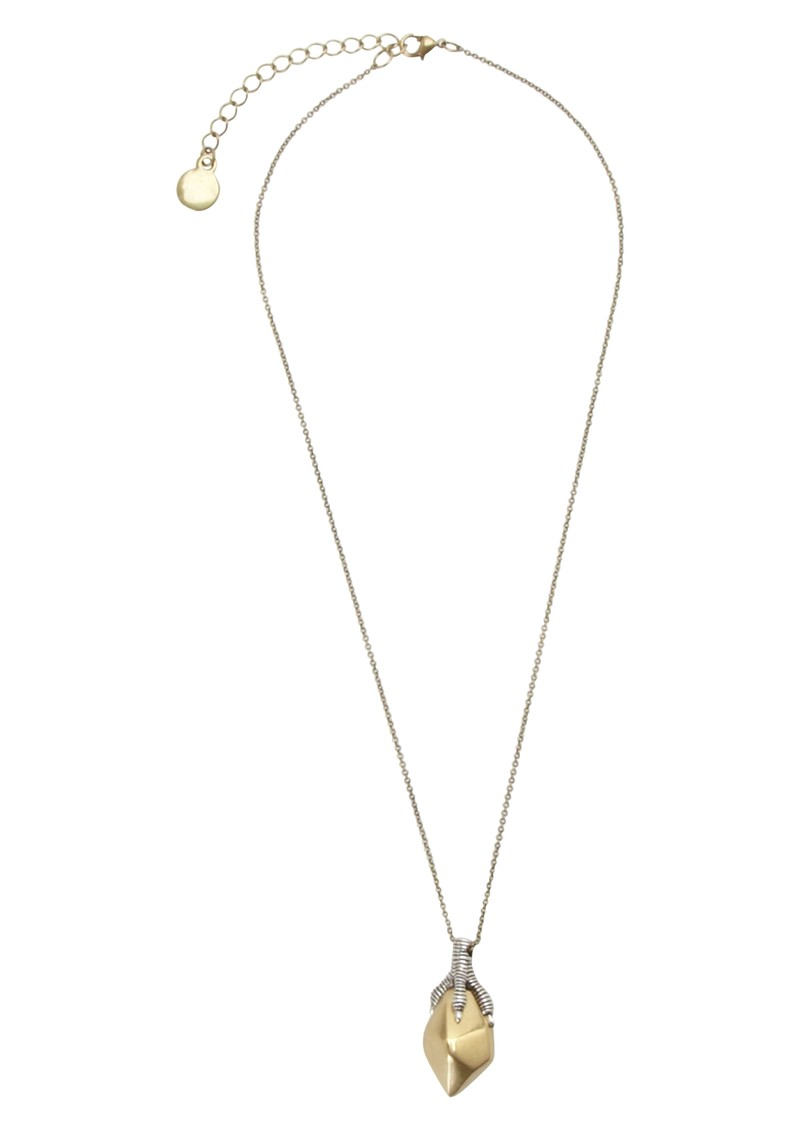 House Of Harlow Talon Pendant Necklace - Silver / Gold main image