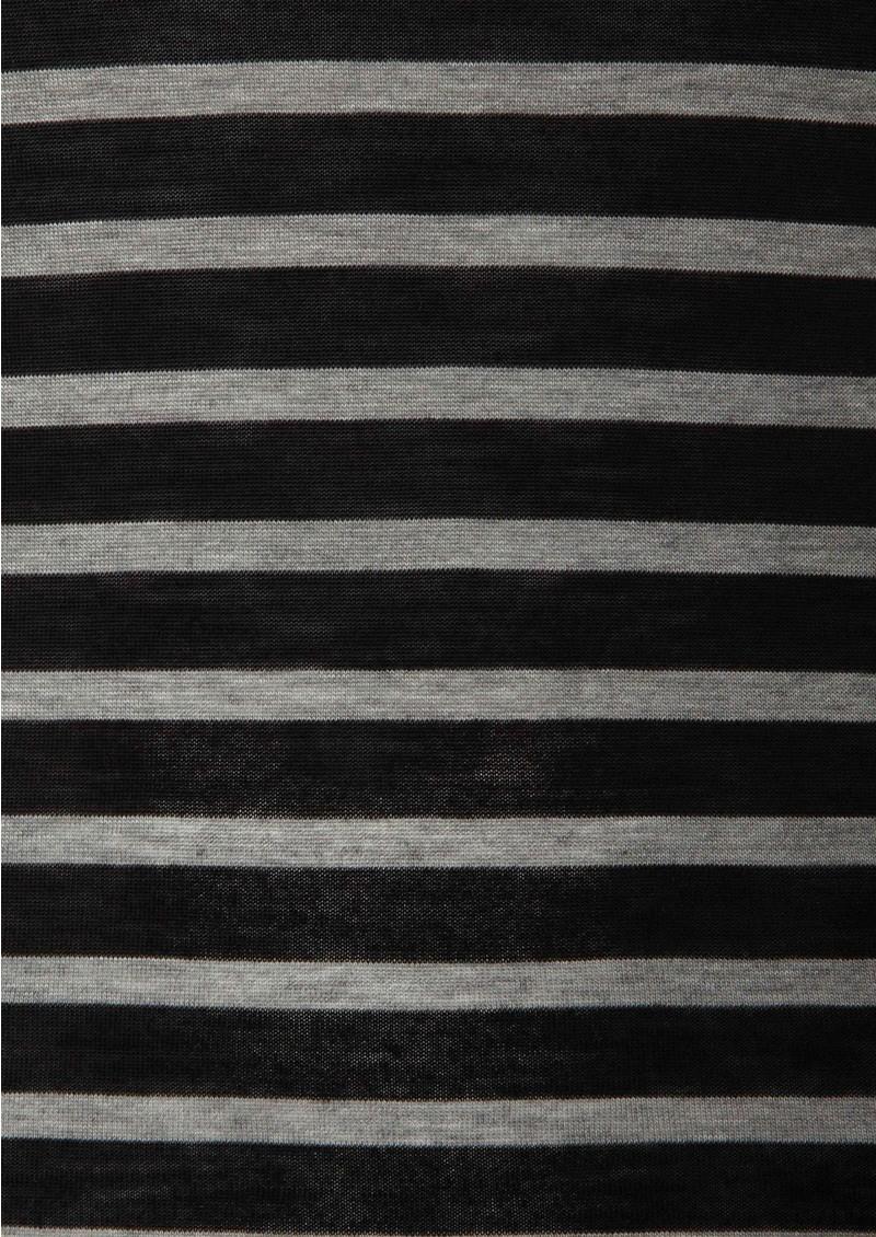 Day Birger et Mikkelsen  Striped Layering Top - Black main image
