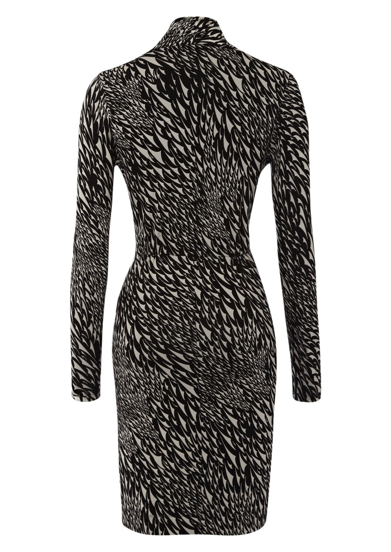Great Plains Swallow Song Twist Dress - Black main image