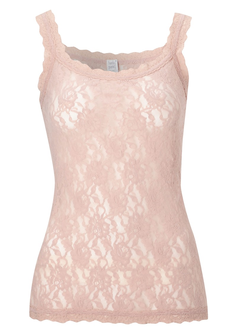 Signature Lace Camisole - Rose main image