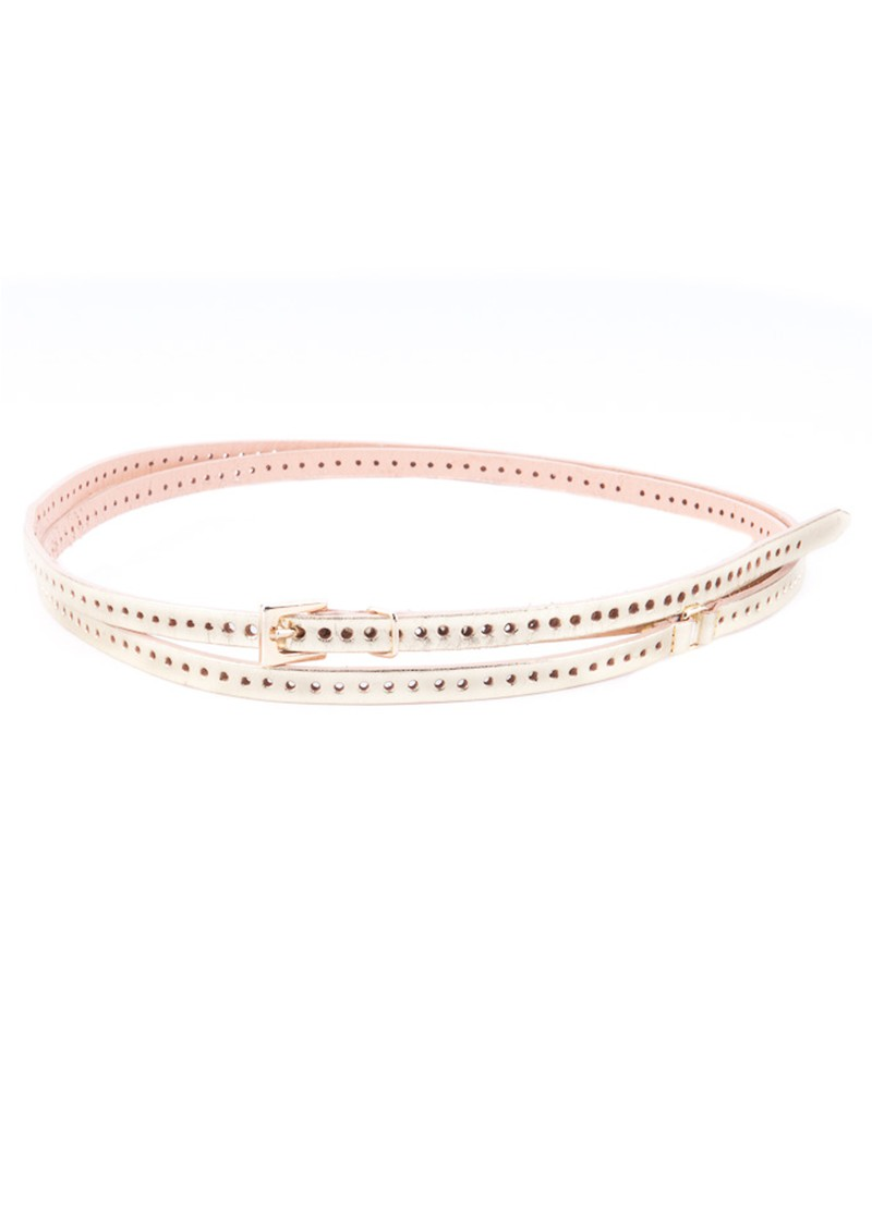 Orla Double  Wrap Belt - Gold main image